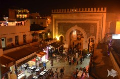 The blue gate in #Fez - #Morocco