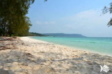 Pristine to picture-postcard-perfect. Koh Rong, where the beaches really are white!