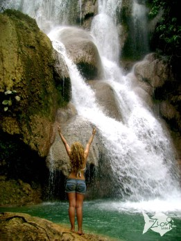 Located in Luang Prabang, Laos, Kuang Si is a breathtaking waterfall you shouldn't miss.