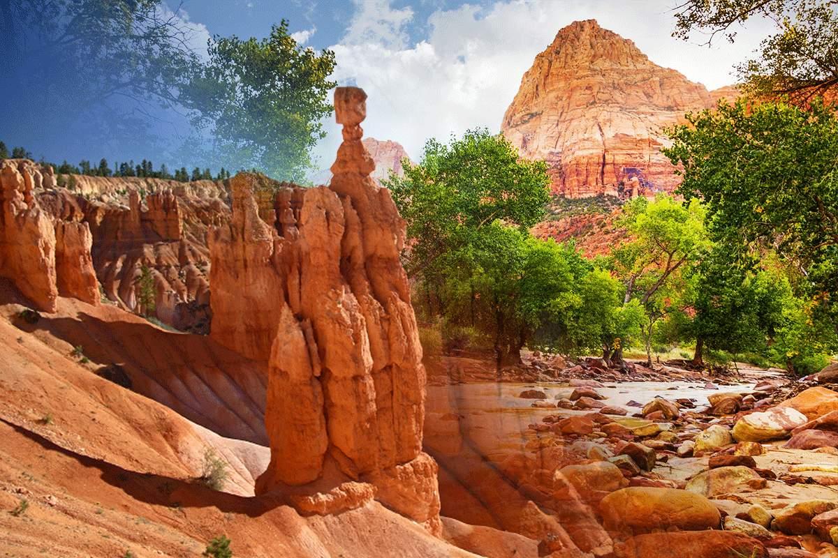 Zion National Park Vs Bryce Canyon National Park