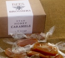 Utah-Made Honey Caramels, assorted flavors. 2oz box $5; 4oz box $9
