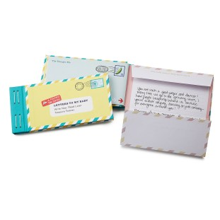 Letters to My Baby journal $14.95