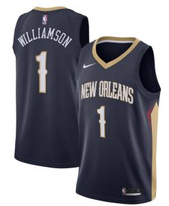 Zion Williamson New Orleans #1 Jersey Image