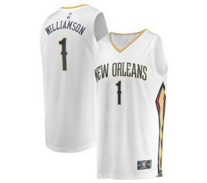 Zion Williamson White Home Jersey (New Orleans) Image