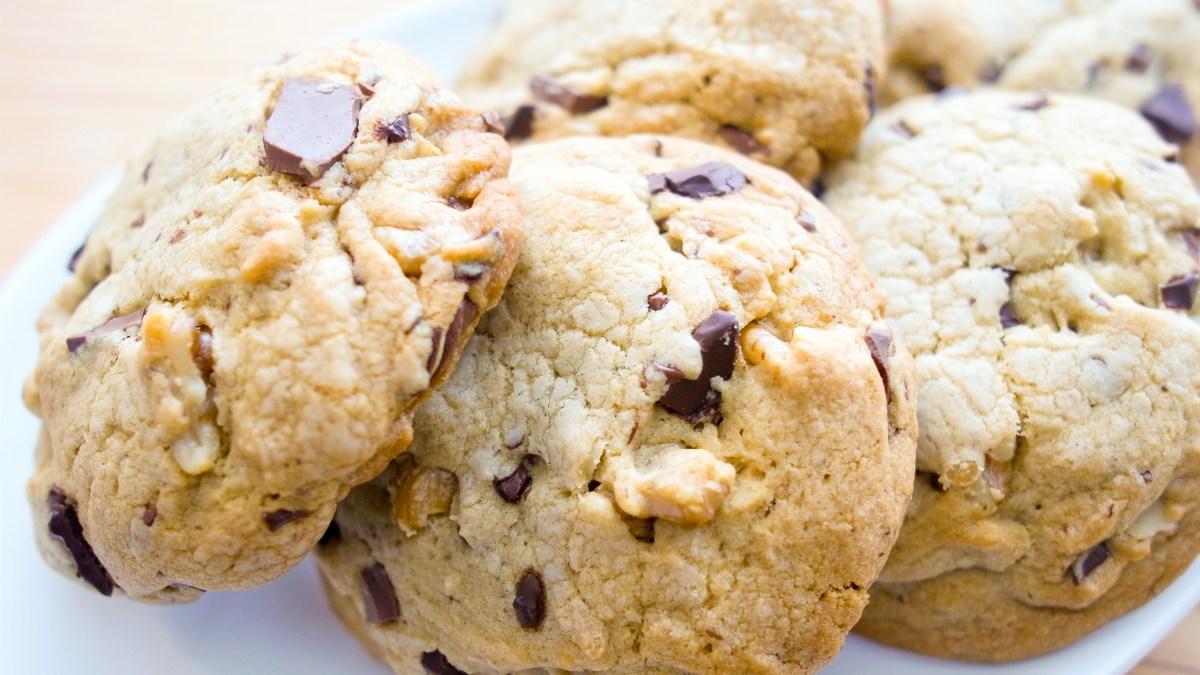 サクッとしっとりのチョコチップクッキー