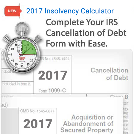 Form 982 Insolvency Calculator
