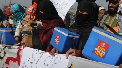 Photo of Polio Drive Suspended Across Pakistan After Violence Against Polio Workers Increases