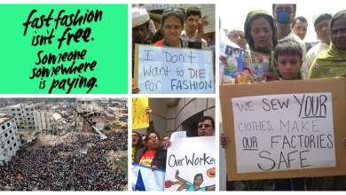 Photo of 'I Don't Wanto Die For Fashion', Bangladeshi Sweatshop Workers