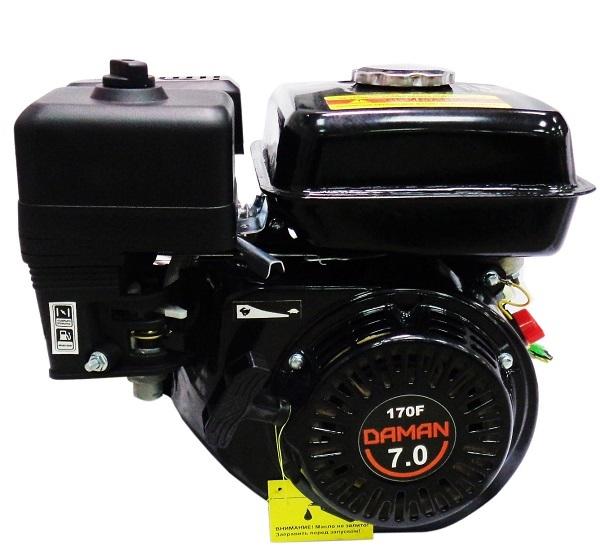 Двигатель для мотоблока Daman 170 7 л.с.