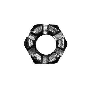 Гайка корончатая М10-7Н.5.019 ГОСТ 5919-73