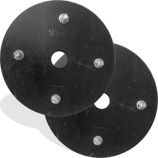 Комплект утяжелителей грунтозацепов для мотоблока 24 кг круг