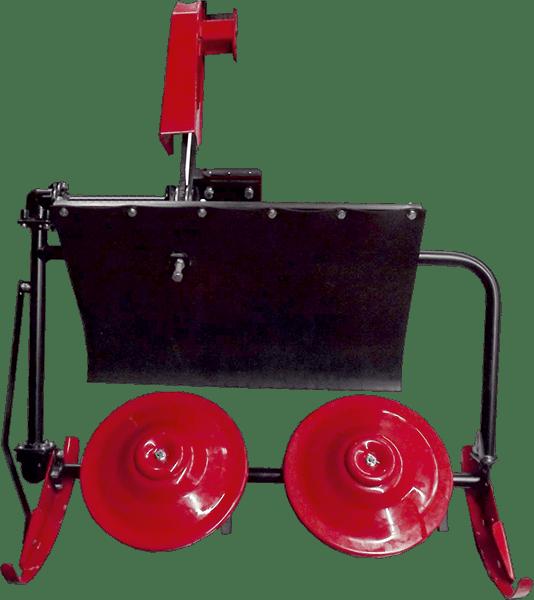 Косилка КР-3 для мотоблока Фаворит с опорой руля