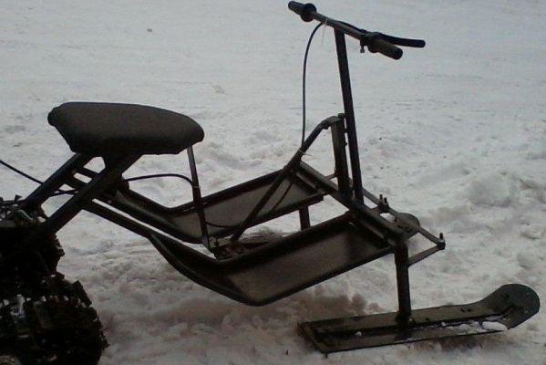 Модуль лыжный для снегоходной приставки СПД