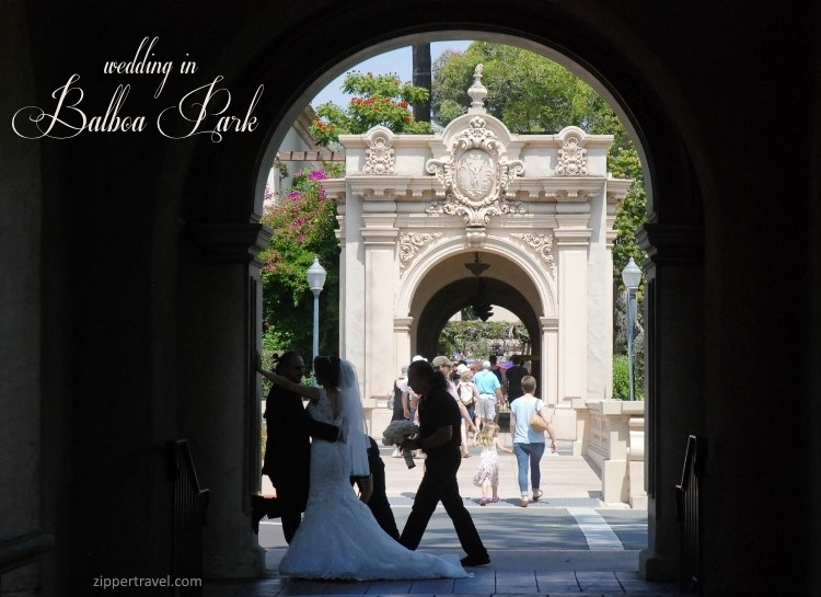Wedding Balboa Park San Diego