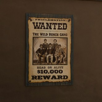 wanted poster Palm Canyon Resort Borrego Springs California