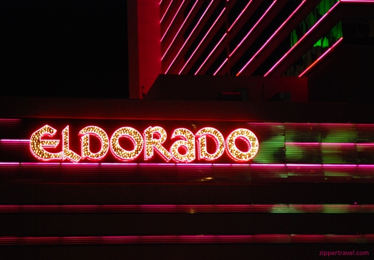 eldorado exterior night reno nevada
