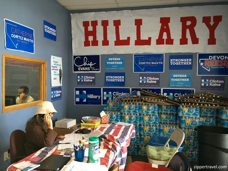 cynthia-calling-from-hillary-clinton-headquarters-reno