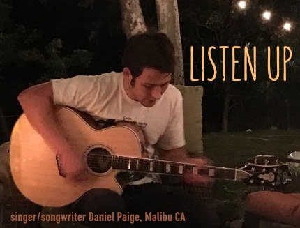 singer songwriter daniel paige mailbu california no regrets tour 2016