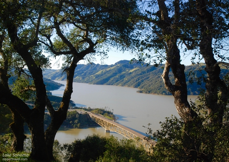 Lake Sonoma near Cloverdale California