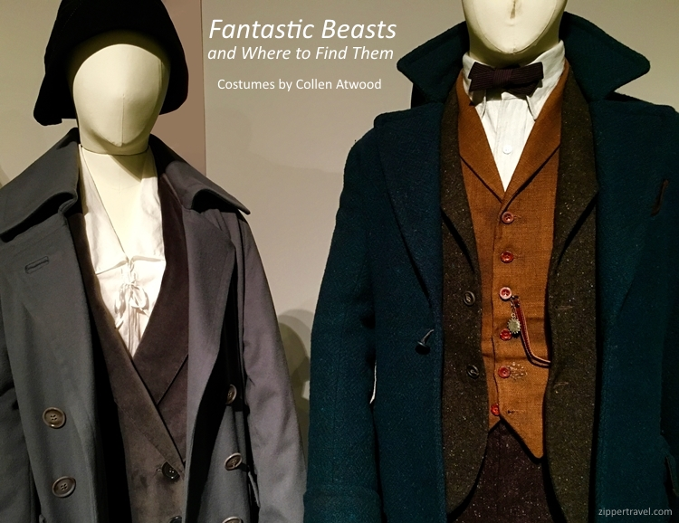 Fantastic Beasts and Where to Find Them costumes designed Colleen Atwood FIDM