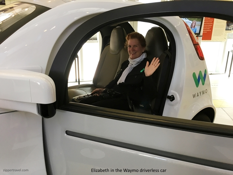 Waymo driverless car Computer History Museum Mountain View CA