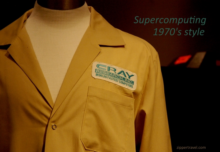 Cray Research Shirt 1976 Computer History Museum Mountain View CA