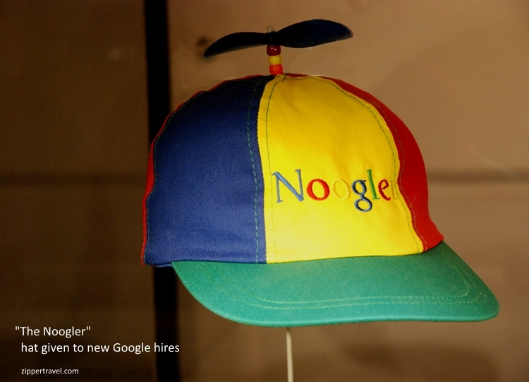 Noogler hat Computer History Museum Mountain View CA