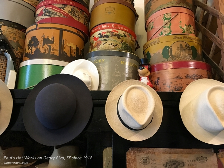 Pauls Hat Works hats vintage hat boxes San Francisco