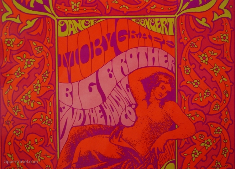 Moby Grape poster deYoung Museum Summer of Love Revisited