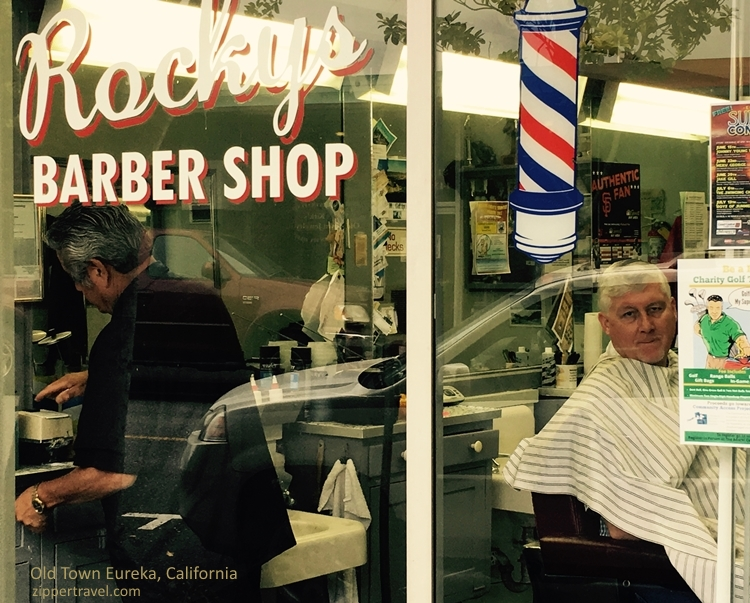 Rocky's Barber Shop Eureka California
