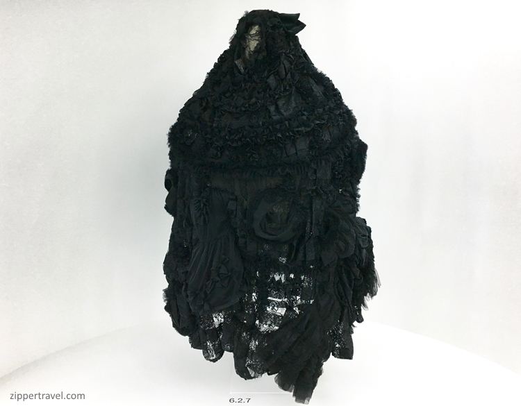 Birth marriage death dress Rei Kawakubo Metropolitan Museum