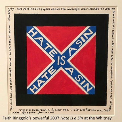 Hate is Sin Faith Ringgold Whitney Museu