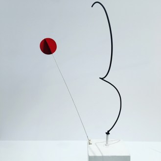 Calder mobile Half Circle Quarter Circle Sphere 1932