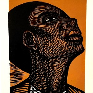 Elizabeth Catlett I Am the Negro Woman Series linocut Whitney Museum