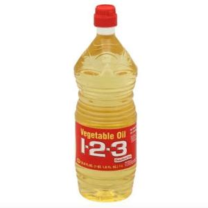1-2-3 Vegetable Oil