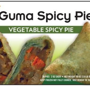 Guma Spicy Pie - Vegetable Spicy Pie