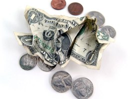 Petty Cash Turns into Allowance from Airport Security Bins