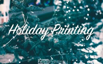 Holiday Printing