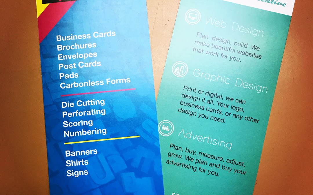 You Need Rack Cards. Here's Why.