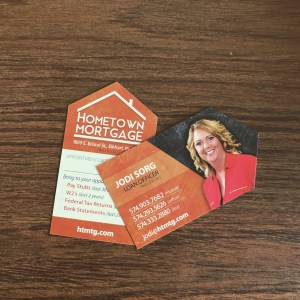 die cut business cards mishawaka