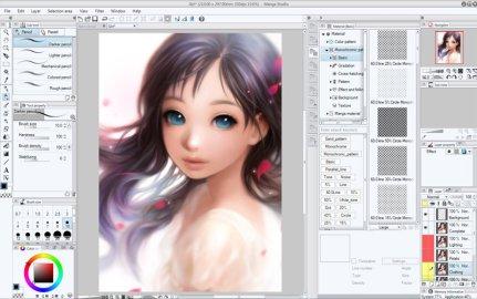 Clip Studio Paint 1.7.2 Crack