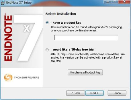 EndNote X7.7.1 Product Key
