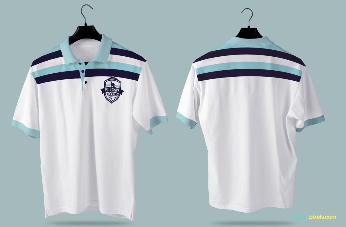 Download Gorgeous Free Polo Shirt Mockup PSD   Zippypixels