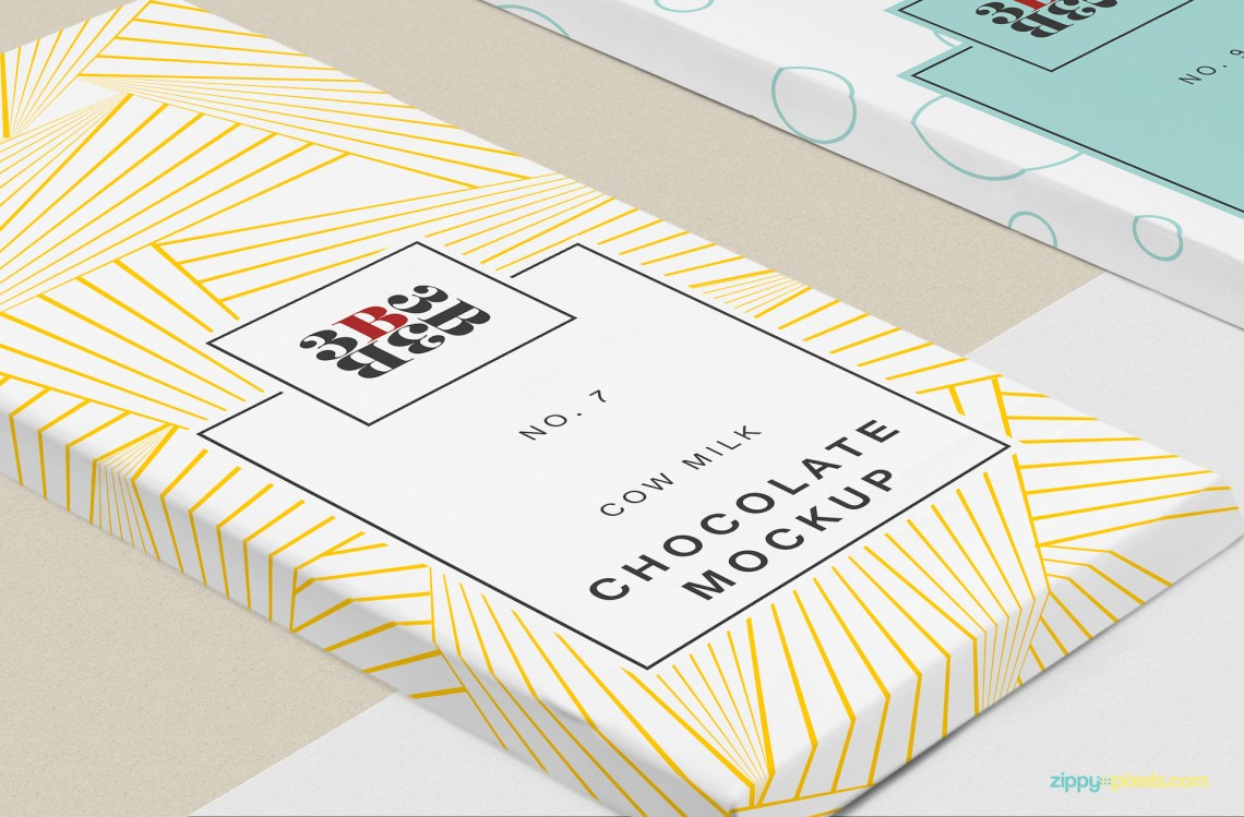 Download Free Cool Chocolate Bar Mockup | ZippyPixels