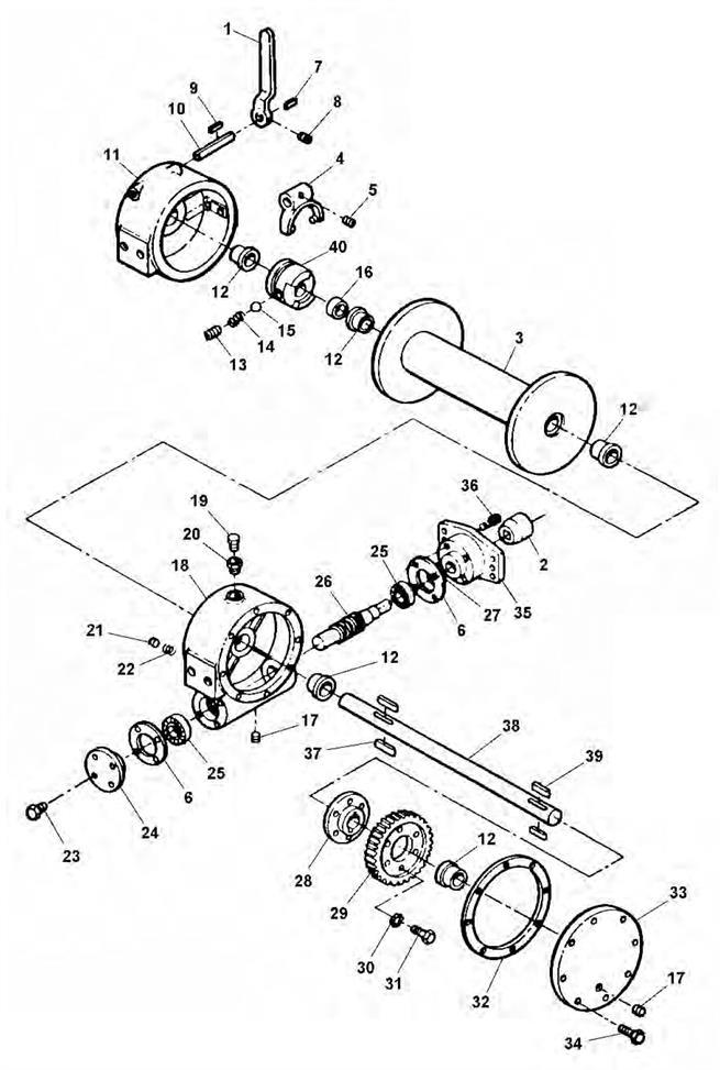 Ramsey 234 Hydraulic Winch