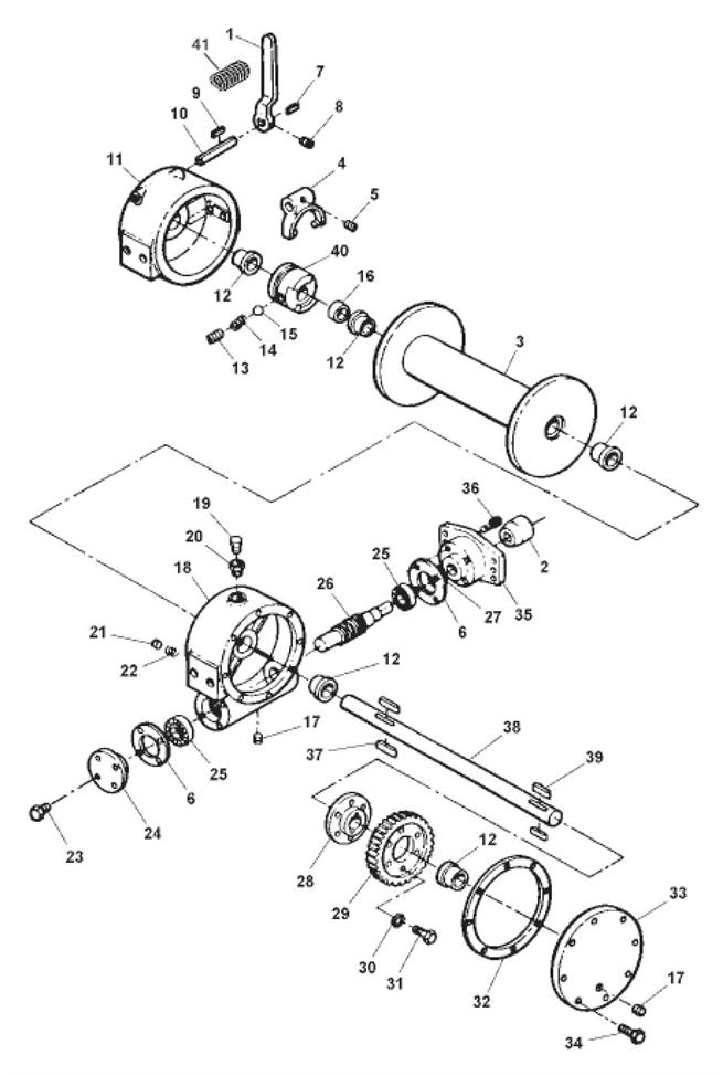 4Ton Hydraulic Winch
