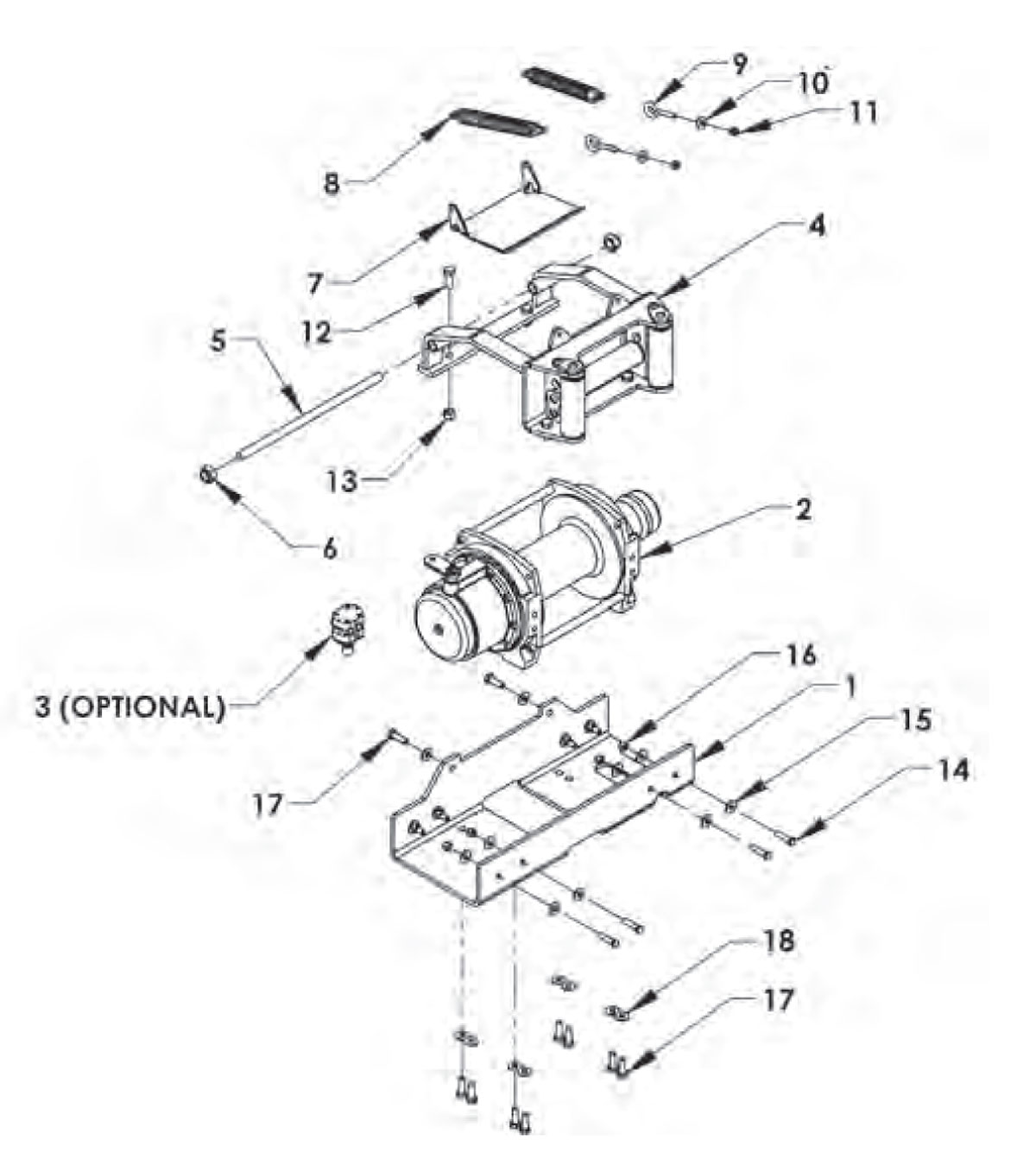 Ironman Winch Wiring Diagram 28 Images Dolgular Com Chevron 12 Series Lcg Gen Ii Carriers 2009 Warn Group