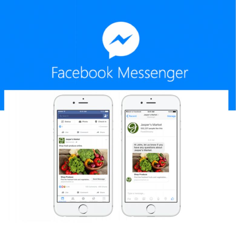 Facebook Ads Now In Messenger