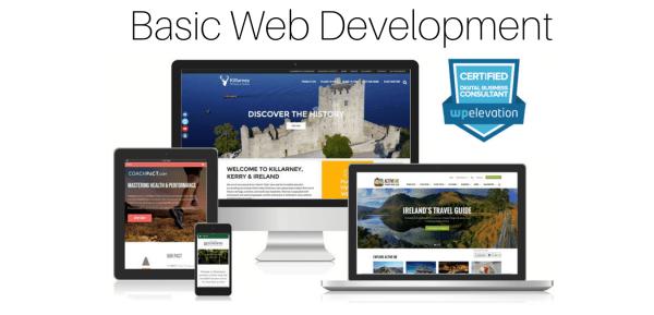 Top notch basic web development