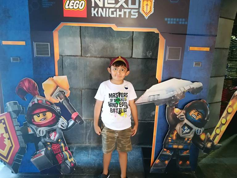 Jaden at Lego Land